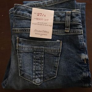 Banana Republic Limited Edition Boot Cut Jeans